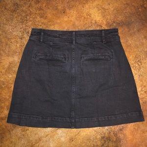 Madewell Skirts - Madewell A-Line Denim Mini Skirt